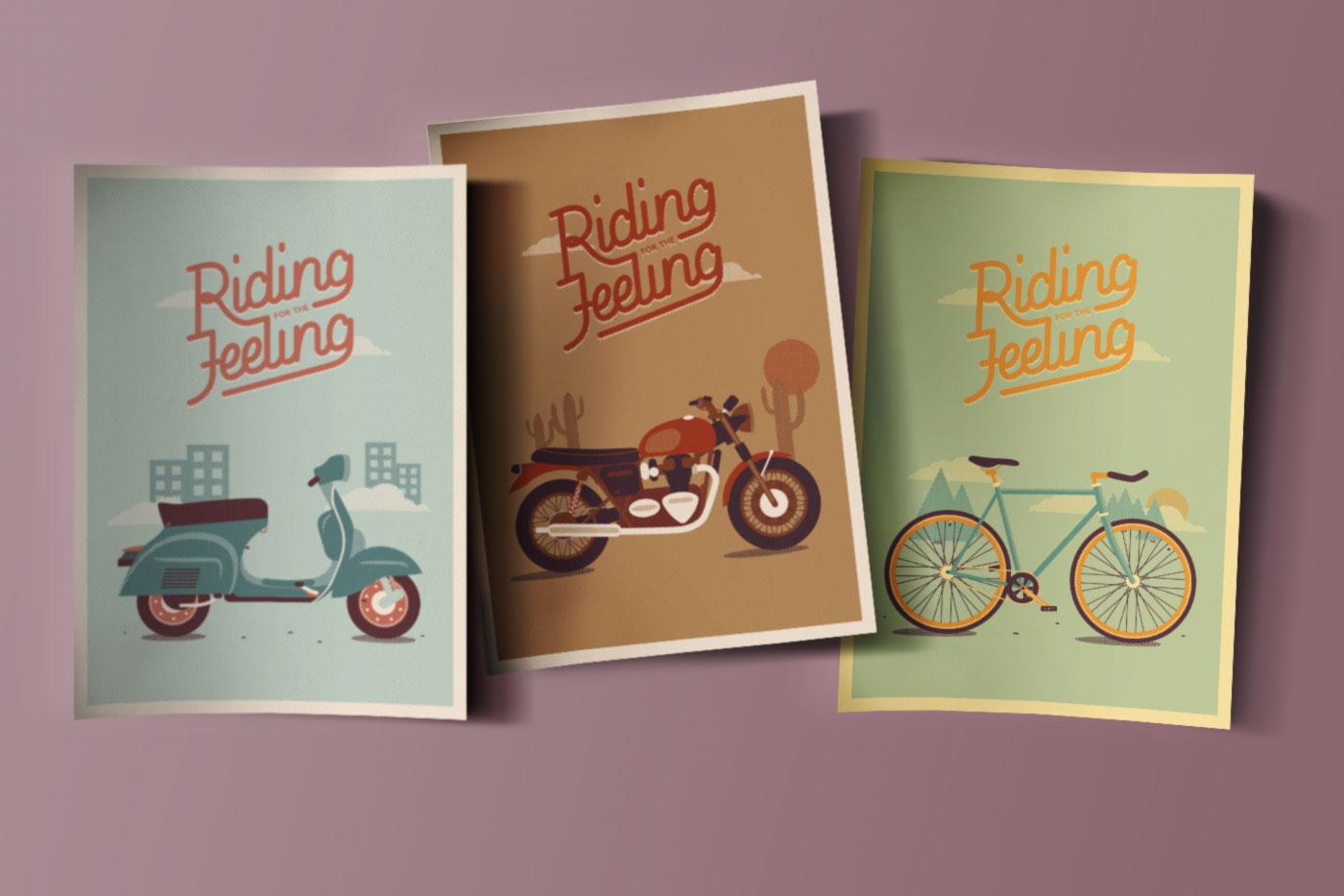 ridingforthefeeling